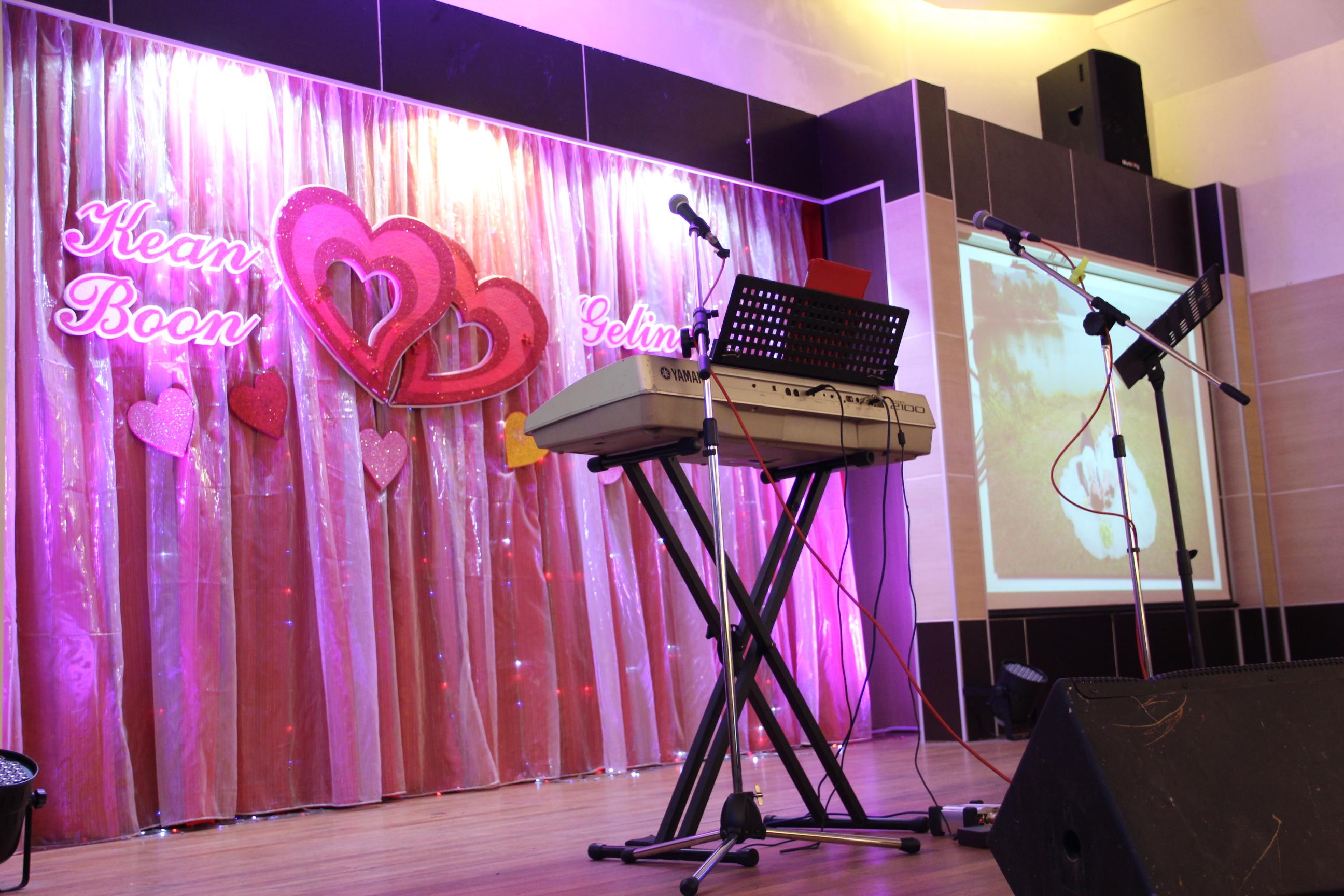 Kuala Lumpur Live Band Service Malcolm Music The Wedding
