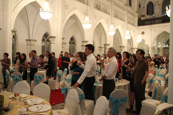 Vincent And Hui Lis Wedding At Singapore Chijmes Hall