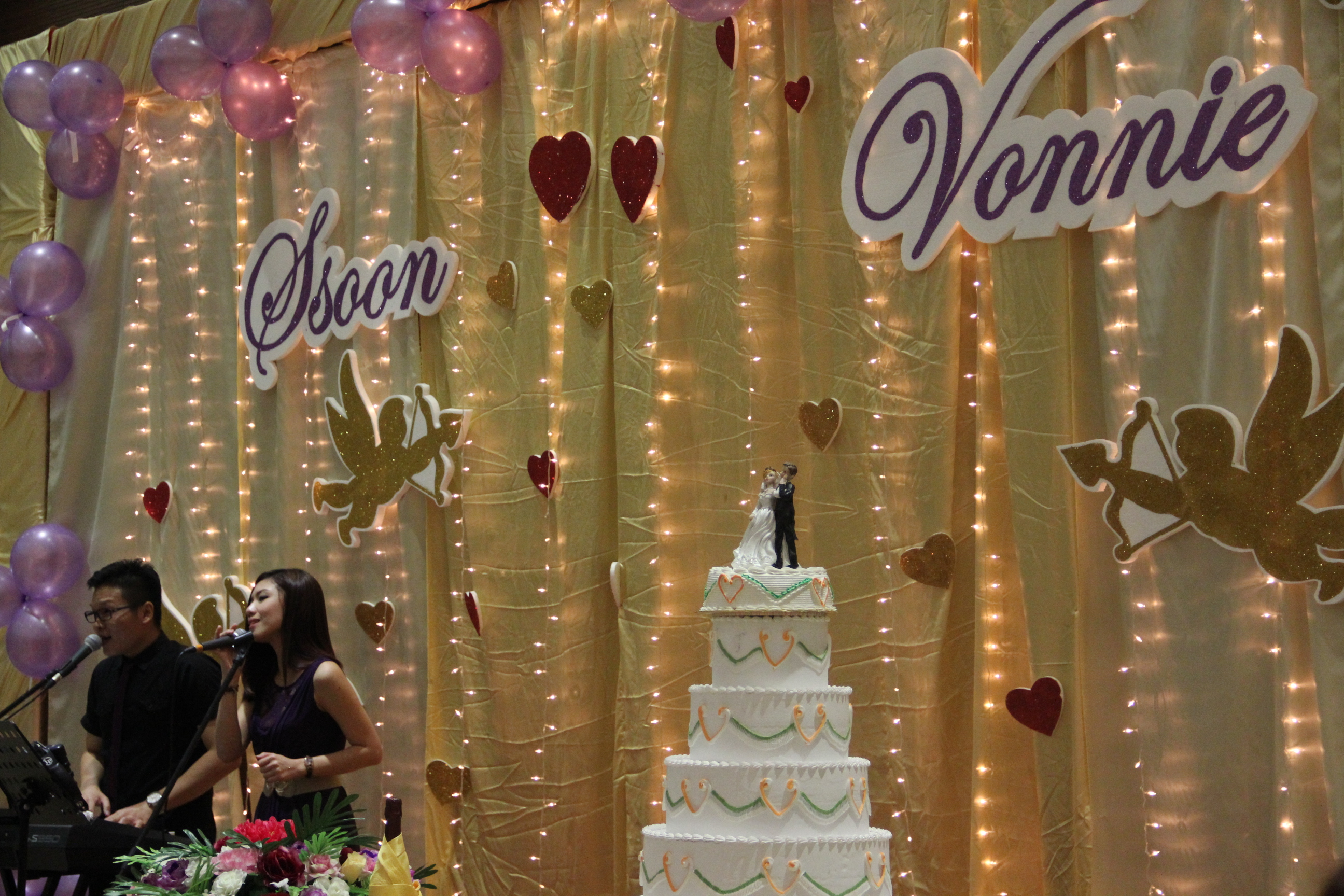 Ssoon And Vonnies Wedding Reception At Seremban 2