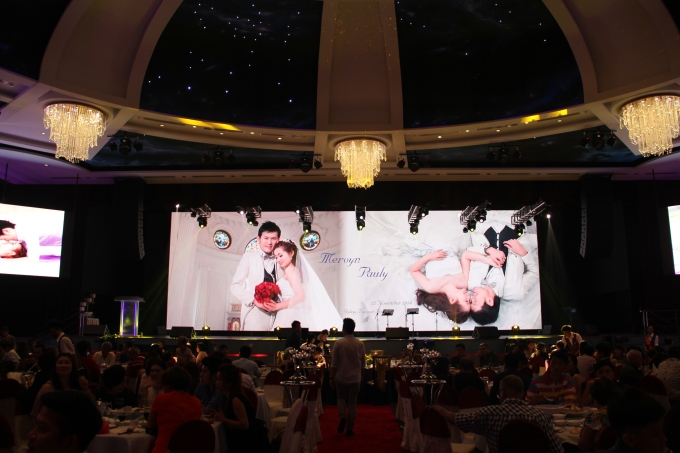 HGH Galaxy Hall Sentul Wedding