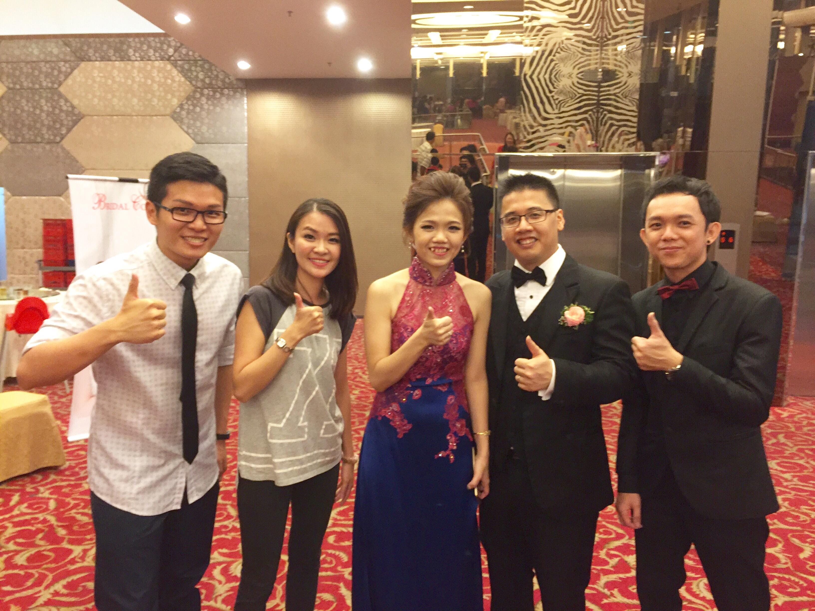 Wedding reception at kepong sin cui hwa malcolm music entertainment kepong sin choi wah manjalara junglespirit Gallery